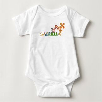 The Name Game - Gabriella Baby Bodysuit