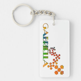 The Name Game - Gabriella Keychain