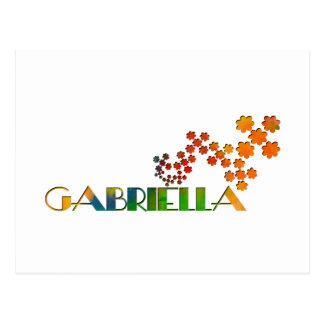The Name Game - Gabriella Postcard
