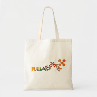 The Name Game - Julia Canvas Bags