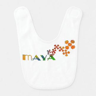The Name Game - Maya Baby Bibs