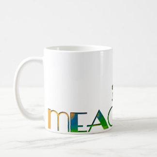 The Name Game - Meagan Classic White Coffee Mug