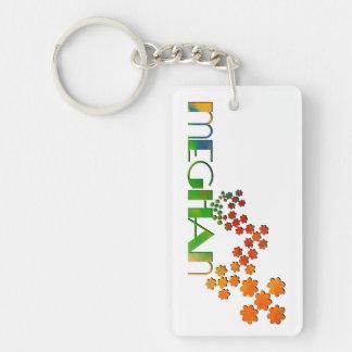 The Name Game - Meghan Keychain