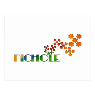 The Name Game - Nichole Postcard