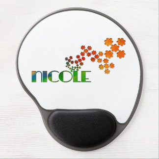 The Name Game - Nicole Gel Mouse Mat