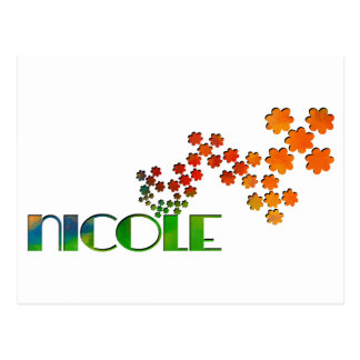The Name Game - Nicole Postcard