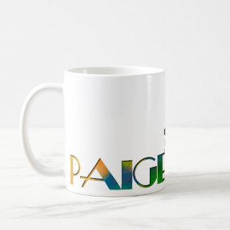 The Name Game - Paige Coffee Mug
