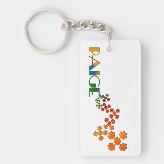 The Name Game - Paige Keychain