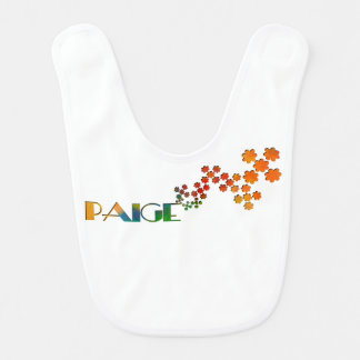 The Name Game - Paige Baby Bib