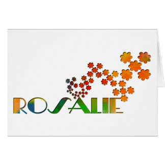 The Name Game - Rosalie Card
