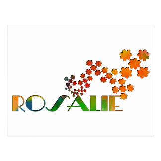 The Name Game - Rosalie Postcard
