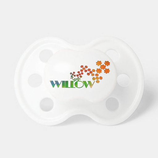The Name Game - Willow Pacifier