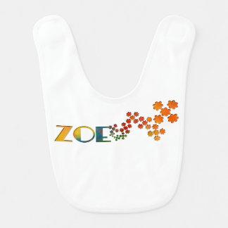 The Name Game - Zoe Bib