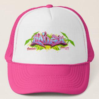 The name Hailey in graffiti-Streetwear Trucker Hat