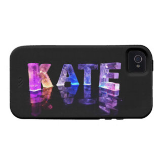 The Name Kate in 3D Lights (Photograph) iPhone 4/4S Case
