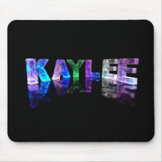 The Name Kaylee in 3D Lights (Photograph) Mouse Pad