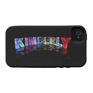 The Name Kimberly in 3D Lights (Photograph) Vibe iPhone 4 Covers