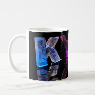 The Name Kyle in 3D Lights (Photograph) Coffee Mug
