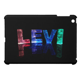 The Name Levi in 3D Lights (Photograph) iPad Mini Case