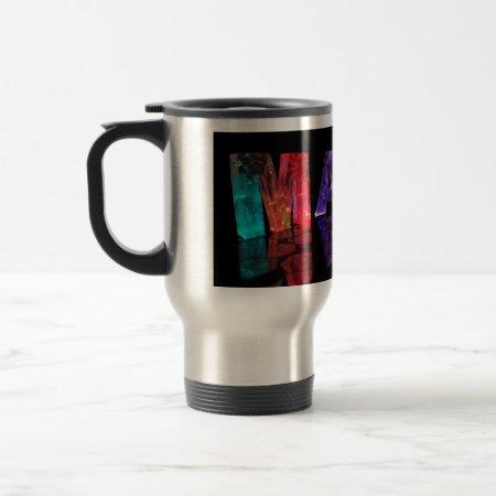 The Name Mark in 3D Lights (Photogarph) Coffee Mug