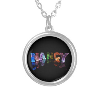 The Name Nancy in 3D Lights Photograph Custom Jewelry