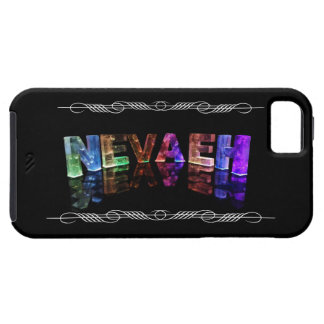 The Name Nevaeh -  Name in Lights (Photograph) iPhone SE/5/5s Case