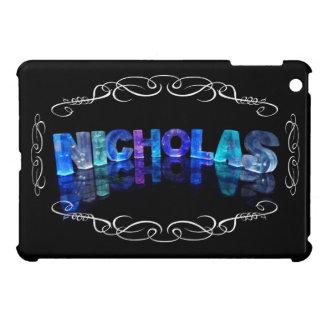 The Name Nicholas -  Name in Lights (Photograph) iPad Mini Cases