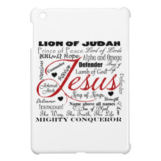 The Name of Jesus Cover For The iPad Mini