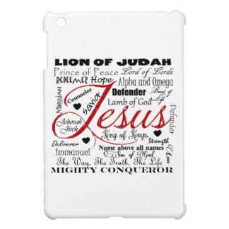 The Name of Jesus iPad Mini Cover