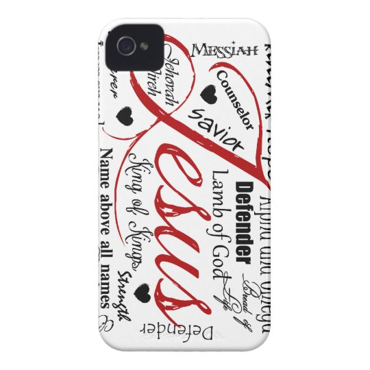 The Name of Jesus iPhone 4 Case