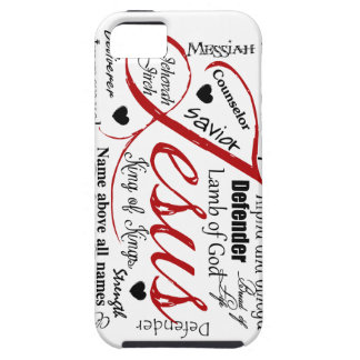 The Name of Jesus iPhone 5 Covers