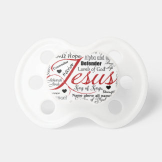 The Name of Jesus Pacifier