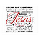 The Name of Jesus Postcard