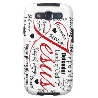 The Name of Jesus Samsung Galaxy SIII Cases