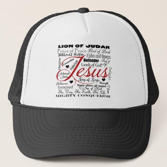 The Name of Jesus Trucker Hat