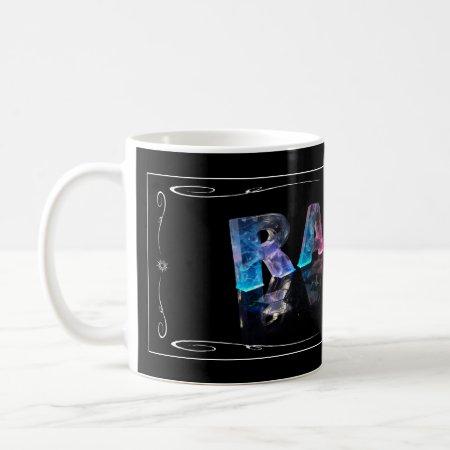 The Name Ralph in 3D Lights (Photograph) Mug