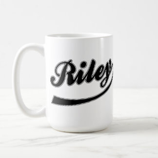 The Name Riley On A Mug