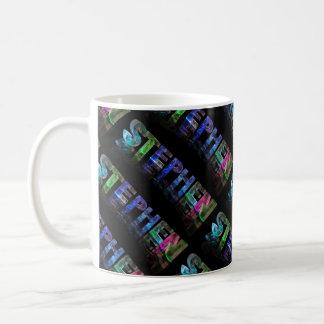 The Name Stephen -  Name in Lights (Photograph) Coffee Mug