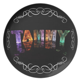 The Name Tammy -  Name in Lights (Photograph) Plate