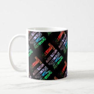 The Name Tim -  Name in Lights (Photograph) Coffee Mug