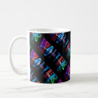 The Name Walter -  Name in Lights (Photograph) Coffee Mug