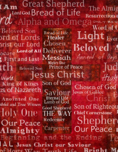 The Names Of Jesus Christ From Bible Jigsaw Puzzle