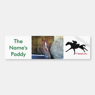 The Name's Paddy Bumper Sticker