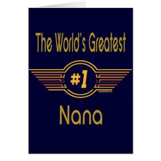 The Nana Collection Card