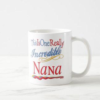 The Nana Collection Classic White Coffee Mug