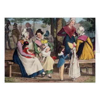 The Nannies, 1820 Card