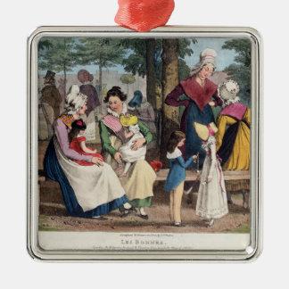 The Nannies, 1820 Metal Ornament