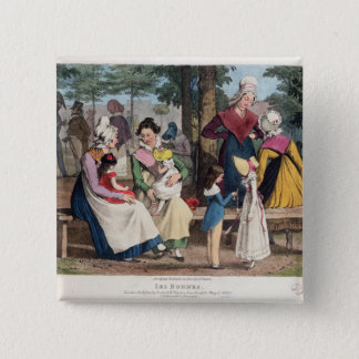 The Nannies, 1820 Pinback Button