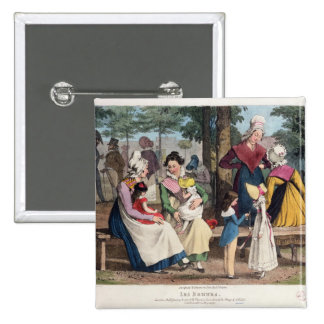 The Nannies, 1820 Pinback Button