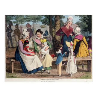 The Nannies, 1820 Postcard